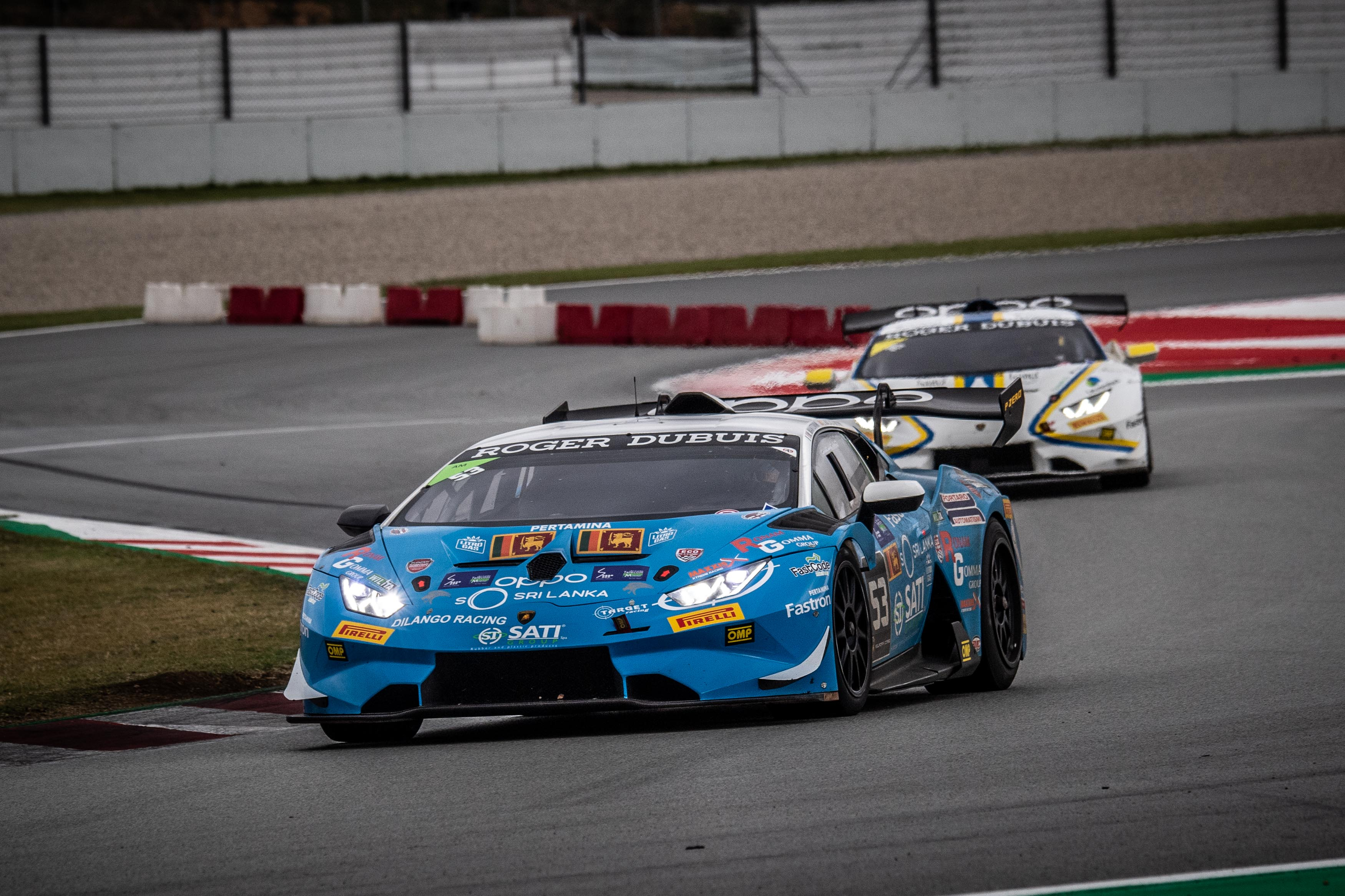 Target Racing gets podiums, points finishes at Barcelona