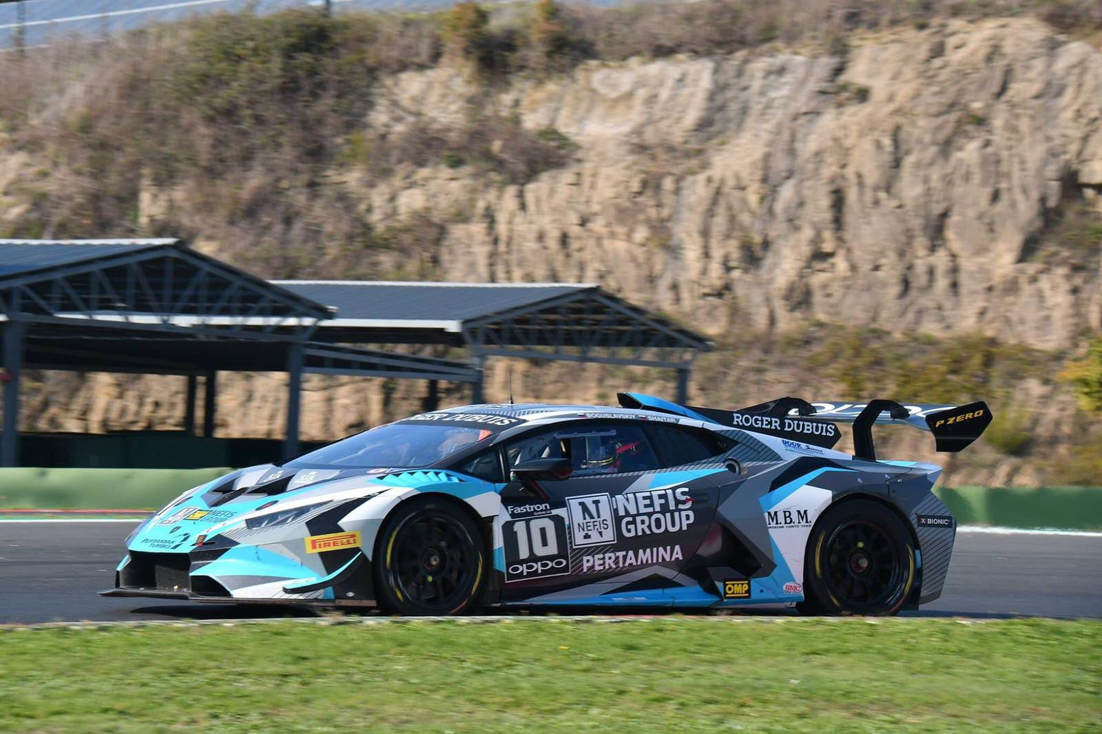 Target collects wins and podiums in Vallelunga's Lamborghini World Finals