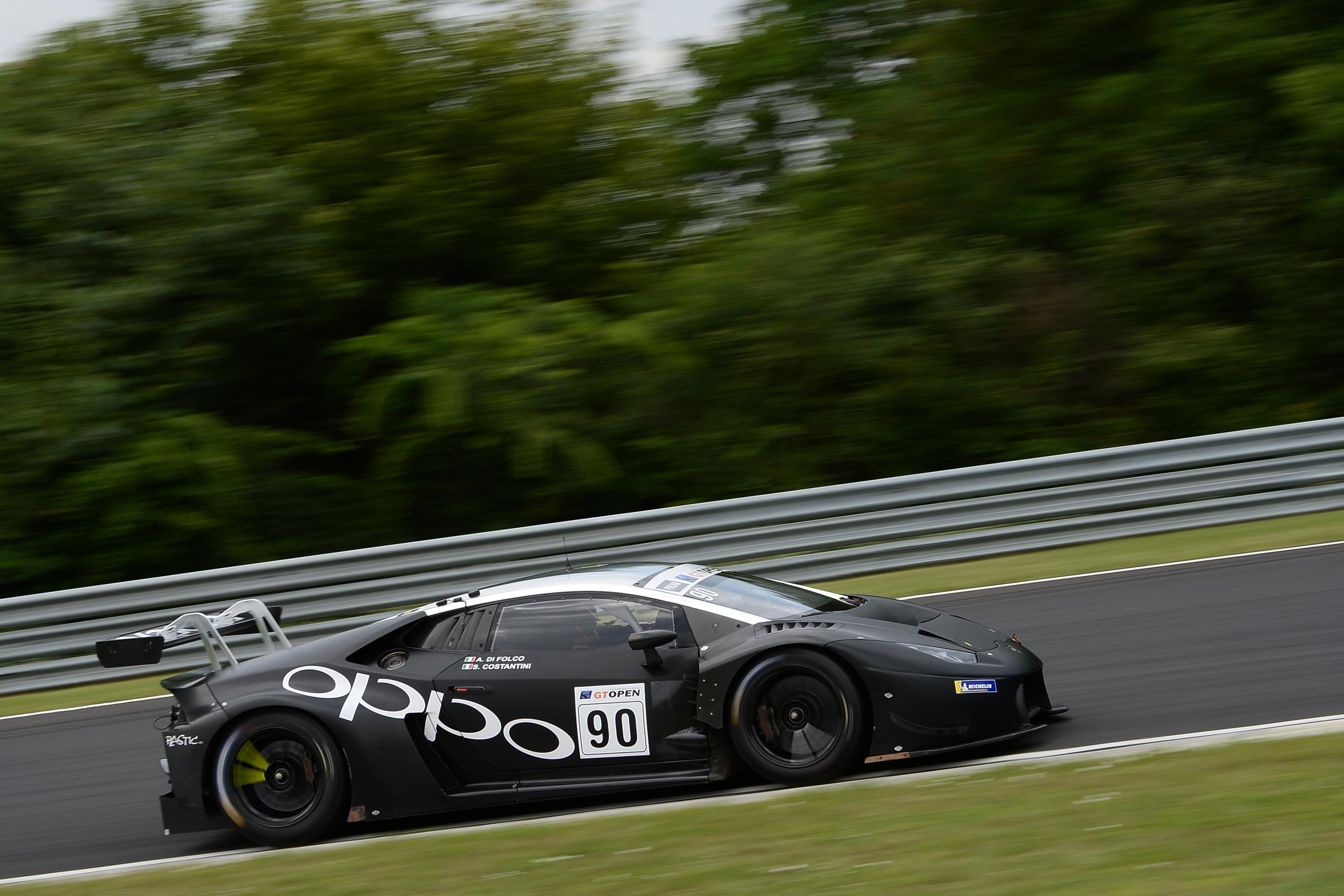 International GT Open - Target Racing set for the Hungaroring Challenge