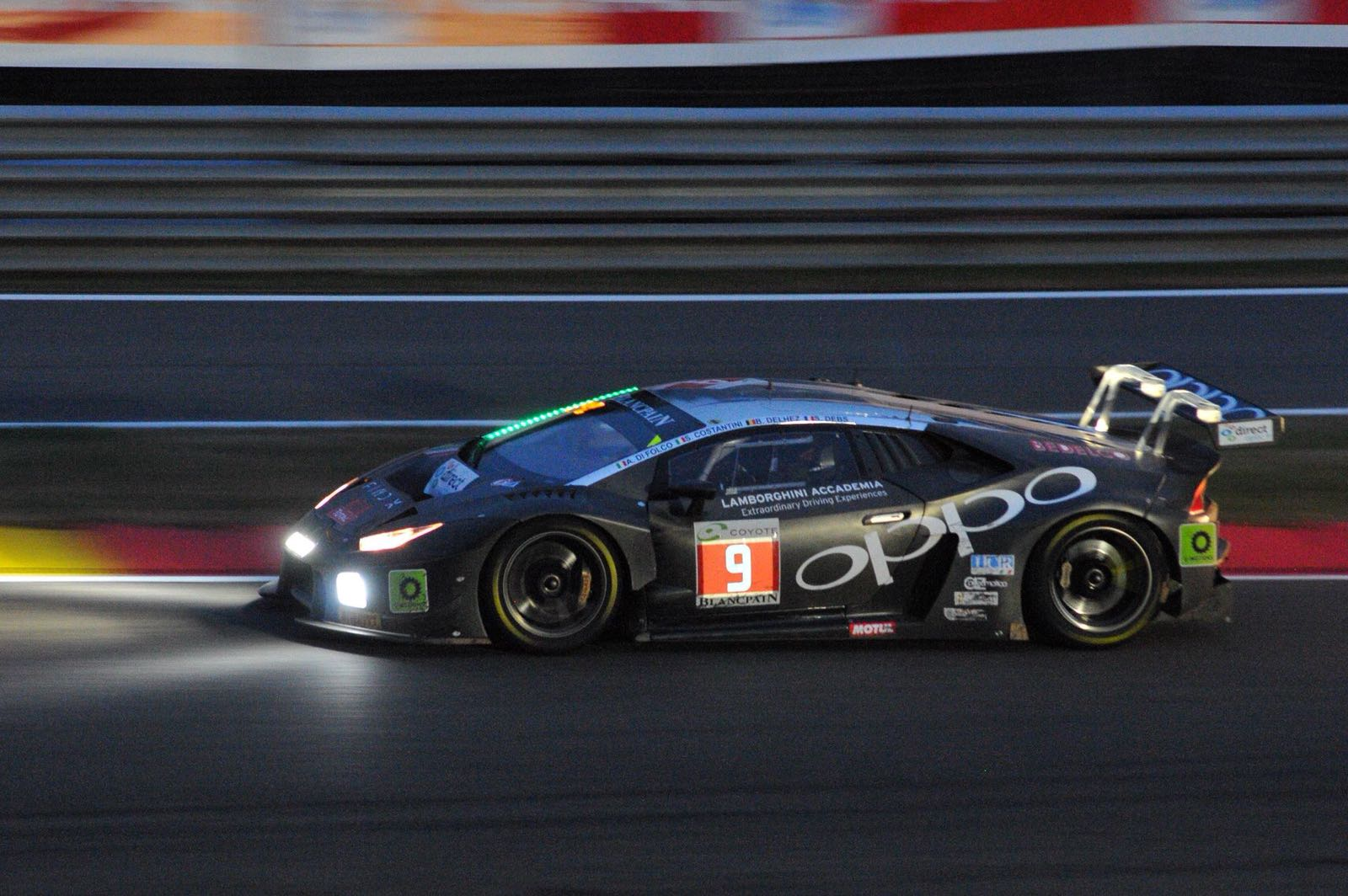 Target Racing grabs brilliant podium in it's maiden 24 Hours of Spa