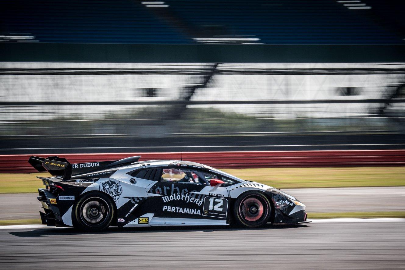 Super Trofeo Lamborghini - Target in top 5 a Silverstone
