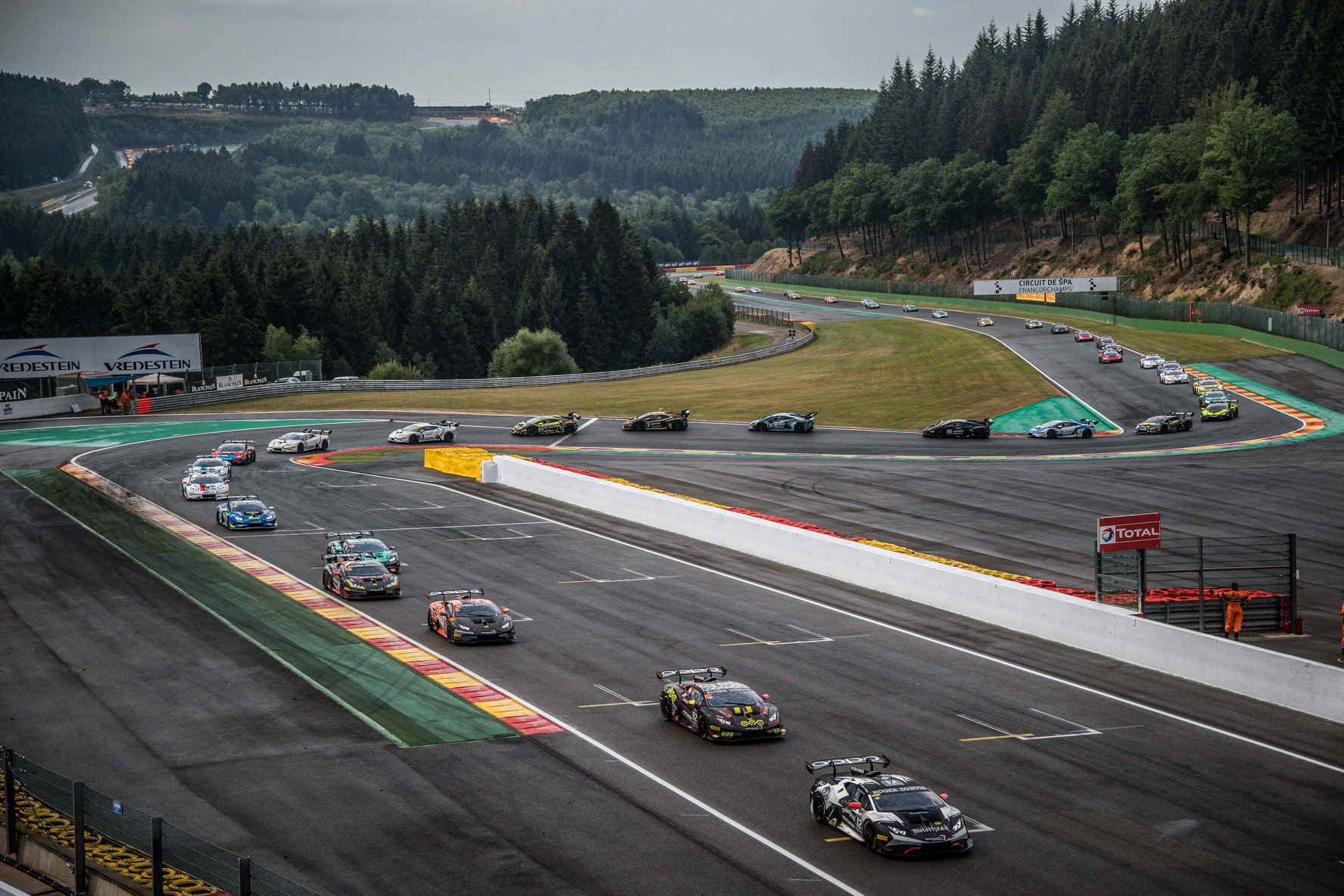 Target Racing wins the class at Spa Pro Am in the Lamborghini Super Trofeo
