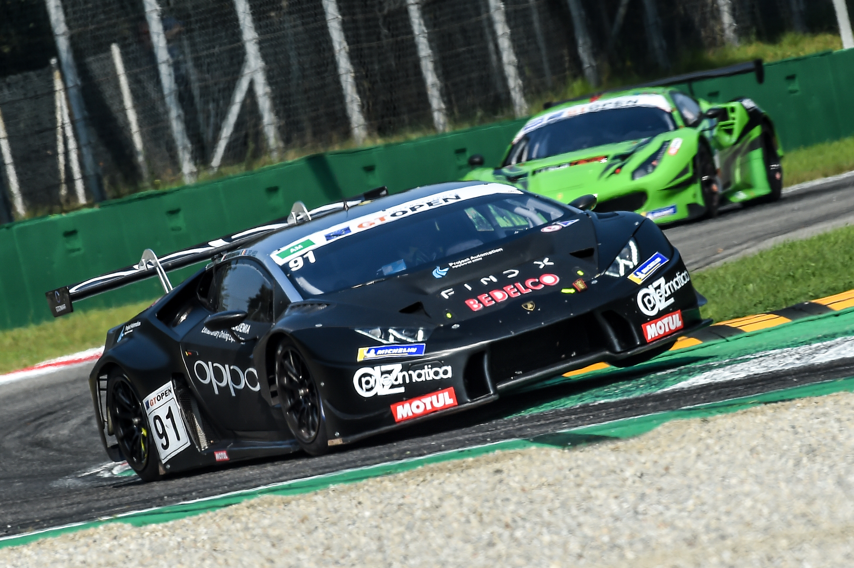 International GT Open - Di Folco-Spinelli clinch a fantastic 4th position at Monza
