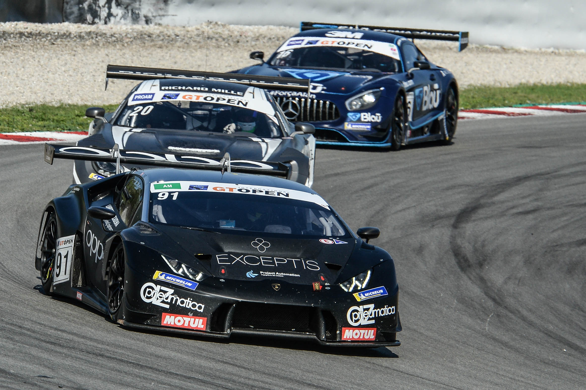 Target secures two Am class victories with Costantini in GT Open final round