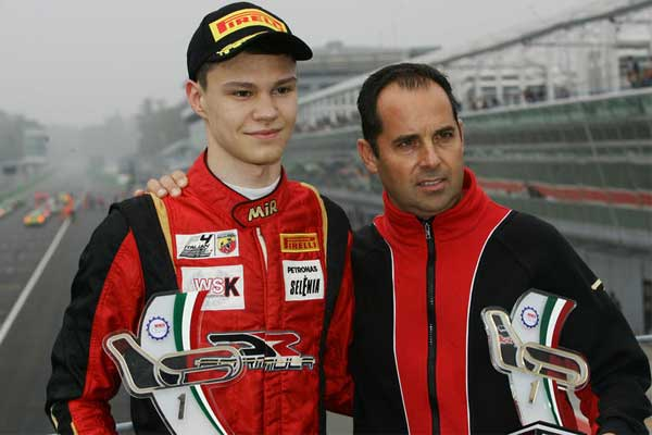 DR Formula's Petrov shines in thelast round of Italian F4