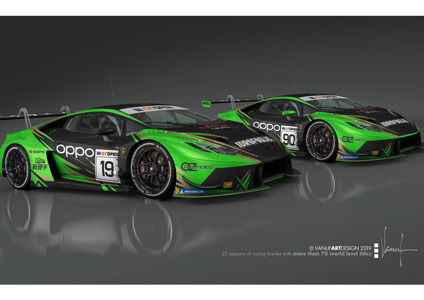 Raton Racing by Target nel GT Open con due Huracàn GT3 Evo