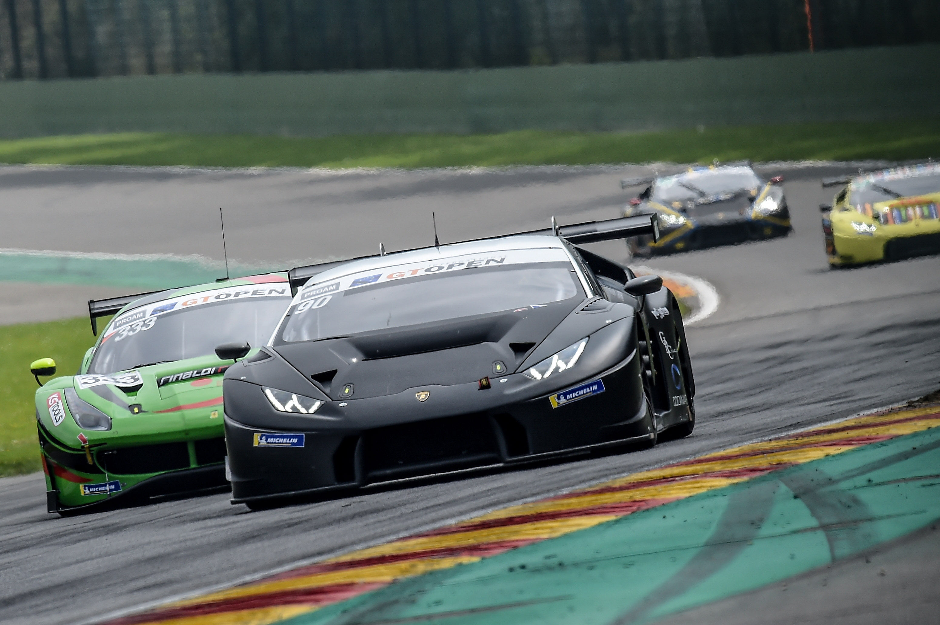 Target protagonista sfortunata nella tappa International GT Open a Spa