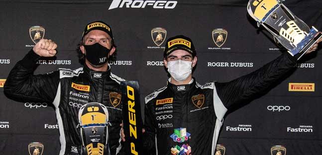 Target subito vincente nel Super Trofeo Lamborghini a Misano