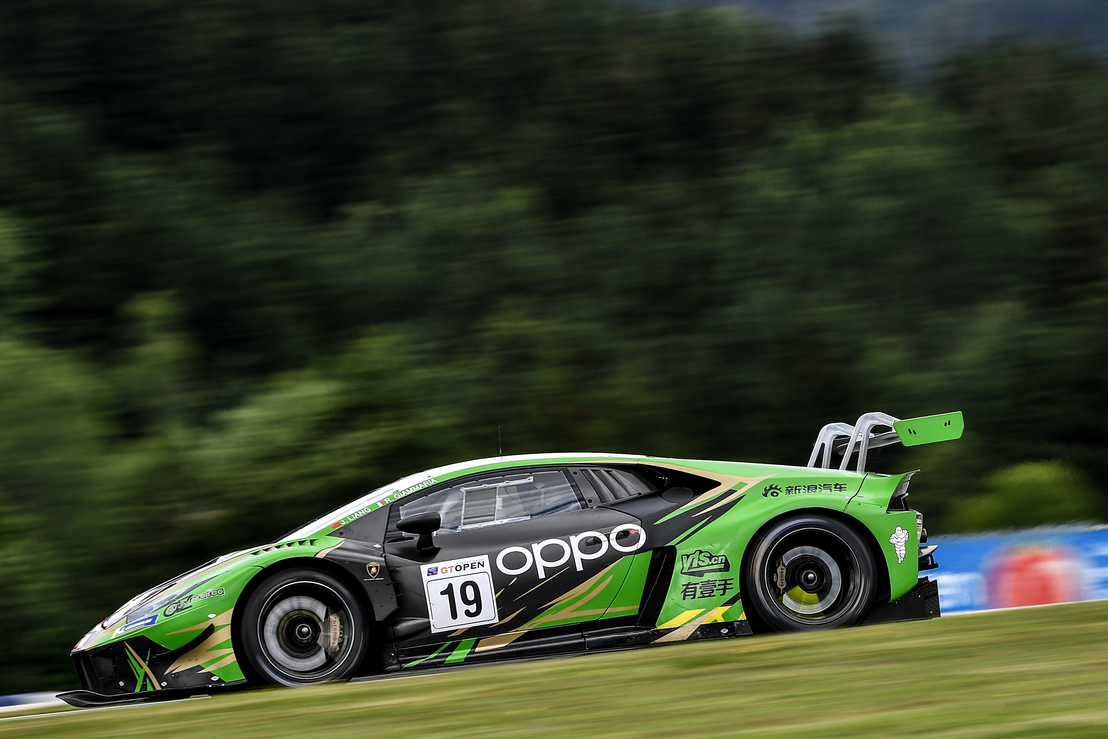 Raton by Target a Silverstone con Jiatong-Giammaria nel GT Open