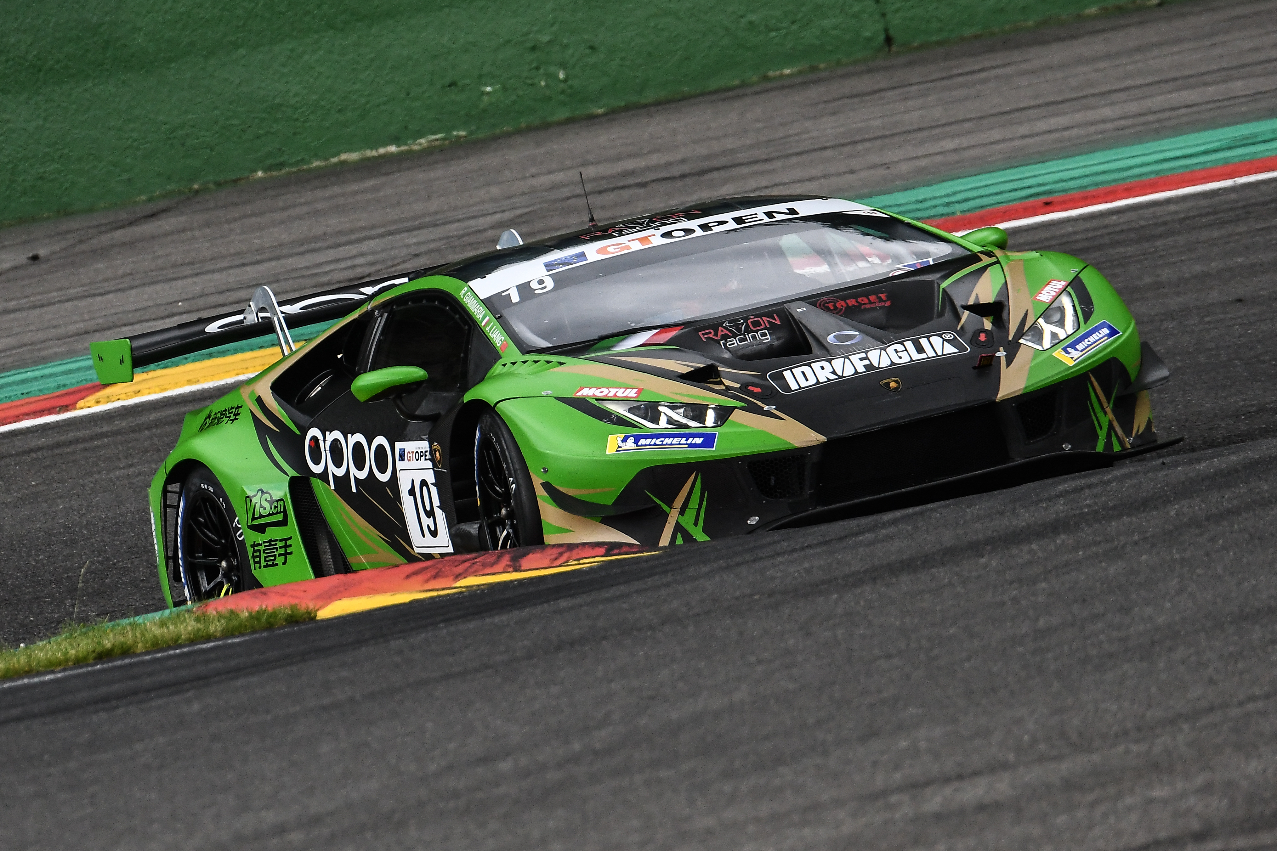 Raton by Target fields a car at Red Bull Ring for Liang-Giammaria pair